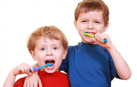 higiene bucal en los niños